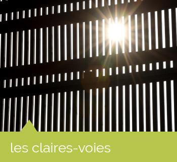 façades : les claires voies
