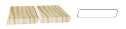 LAME TERRASSE profil parallélogramme lisse