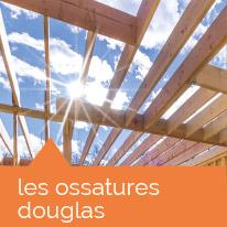 structures : les ossatures douglas