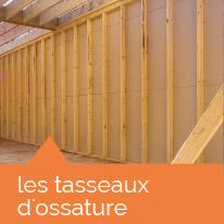 structures : tasseaux d'ossature